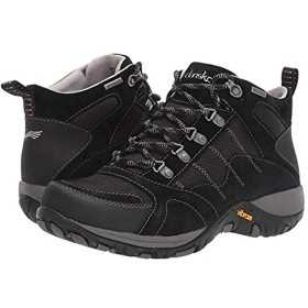 [ダンスコ] レディースブーツ・靴 Paxton Black Suede (25.5-26cm) Regular [並行輸入品]
