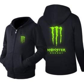 Monster Energy モンスターエナジー パーカー プルオーバー 春秋冬3シーズン L