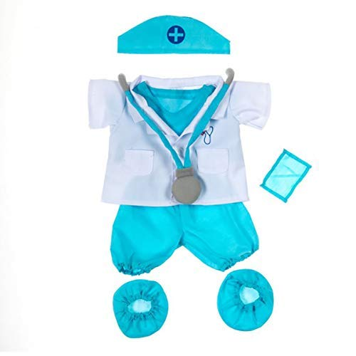 Vermont Teddy Bears Karate w//5 Color Belts Outfit Teddy Bear Clothes Fit 14-18 Build-A-Bear and Make Your Own Stuffed Animals Teddy Mountain