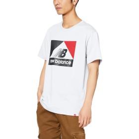 [ニューバランス] Tシャツ NBアスレチックアーカイブNB T ホワイト 日本 M (日本サイズM相当)