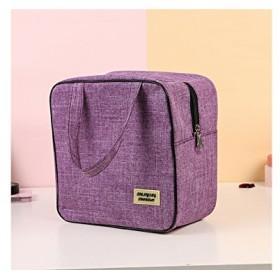 FenBuGu-JP ポータブルレディース防水旅行の化粧品袋メークアップバッグ(パープル)