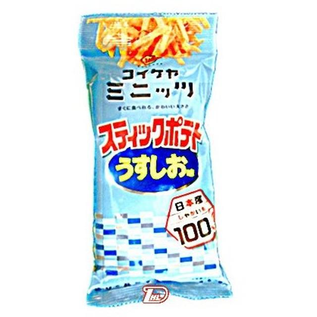 スティックポテト うすしお味 コイケヤ 40g