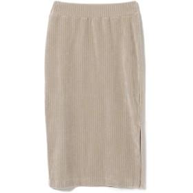 (ビームスライツ)BEAMS LIGHTS/スカート 手洗い可能 コーデュロイ タイトスカート レディース LT.GREY ONE SIZE
