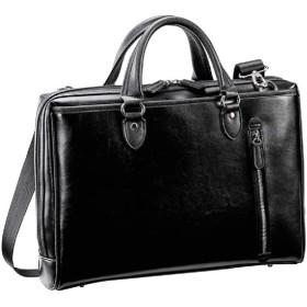 ビジネスバッグ メンズ ブリーフケース B4 スーツスタイルにもカジュアルスタイルにも似合う 通勤バッグ 大開き 三方開き タブレット対応 おしゃれ 軽量 黒