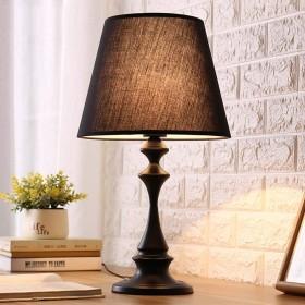 19-yiruculture テーブルランプシンプルでモダンな暖かいランプの寝室のベッドサイドランプの結婚式の供給クリエイティブ暖かい光調整可能なledテーブルランプ (Color : A)