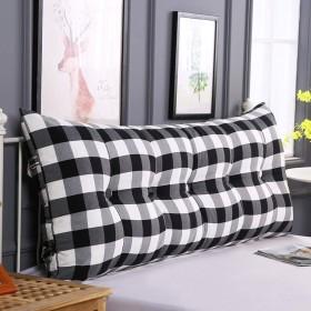 綿のベッドクッション、リムーバブルと洗える畳のソフトバッグダブルベッドのバックレスト (色 : A, サイズ さいず : 60  60cm)