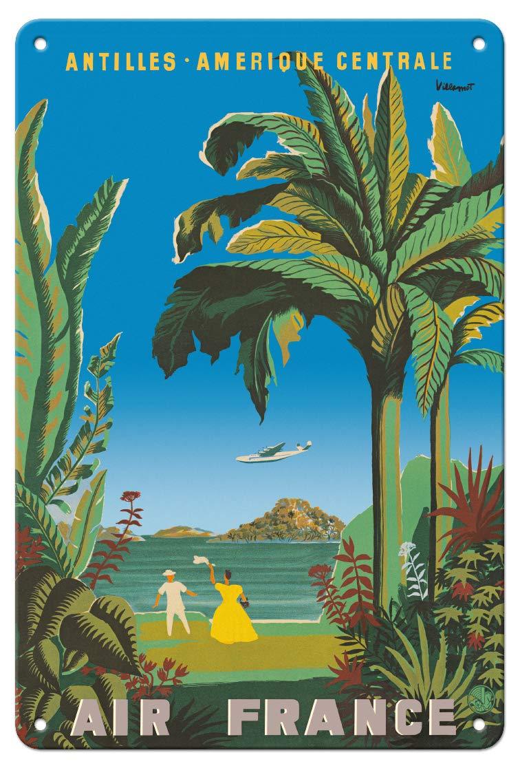 Tin Sign XXL World Tour  ALOHA Hawaii