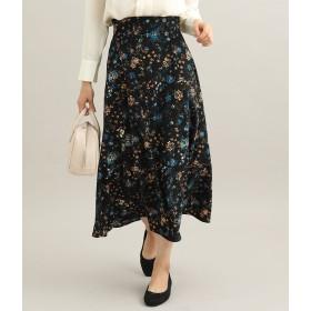 ViS(ビス)/フラワーマキシナロースカート