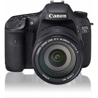 Canon デジタル一眼レフカメラ EOS 7D レンズキット EF-S18-200mm F3.5-5.6(中古品)