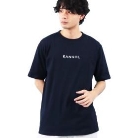 beg782(エイト) 8(eight)KANGOL カンゴール 半袖 Tシャツ ネイビーL