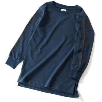 デビロック 袖プリント長袖Tシャツ レディース その他系5 130 【devirock】