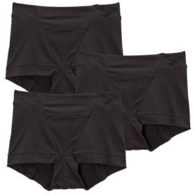【WEB限定】レーヨン。綿混ストレッチ お腹脚口らくちんボクサーショーツ3枚組 スタンダードショーツ,Panties