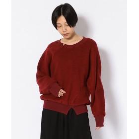 RAWLIFE Robes & Confections/ローブス&コンフェクションズ/プルオーバーパイルニット/BRC T01 112 レディース RED 1 【RAWLIFE】