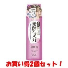 (2017年の新商品)(コーセーコスメポート)黒糖精 うるおい化粧水 しっとり 180ml(お買い得2個セット)