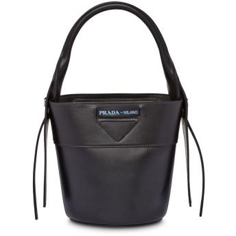 Prada ウーヴェルチュール バケットバッグ - ブラック