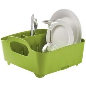 キッチンクラフト ドリップトレイ、食器収納ボックスキッチンドレン、利用できる複数の色が付いている皿の排水容器 安全性 (サイズ さいず : 緑)