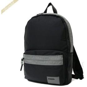 ディーゼル DIESEL メンズ リュックサック バックパック ブラック×グレー X06264 PR230 T8013 [在庫品]