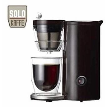 レコルト コーヒーメーカー ソロカフェ ブラウン SLK-1BR(中古品)