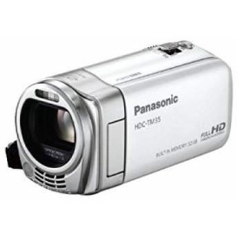 パナソニック デジタルハイビジョンビデオカメラ ホワイト HDC-TM35-W(中古品)