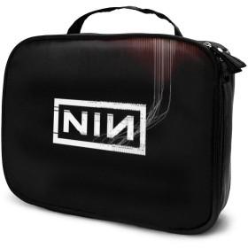 化粧ポーチ メイクボックス コスメポーチ 収納ポーチ Nine Inch Nails ナイン・インチ・ネイルズ 防水 化粧品仕分け収納 小物入れ 旅行ポーチ 大容量 高品質 ファッション 2019年新品