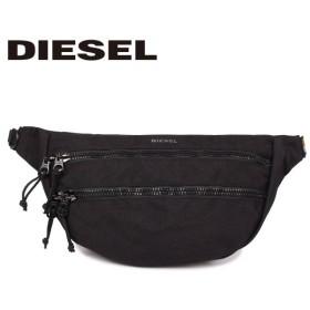 ディーゼル DIESEL バッグ ボディバッグ ウエストバッグ ショルダーバッグ メンズ F-URBHANITY BUMBAG ブラック 黒 X05120 P1516 9/12 新入荷