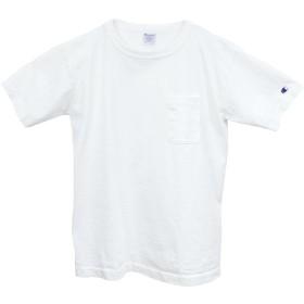 (チャンピオン) Champion メンズ ポケットTシャツ / T1011 US T-SHIRT/White(ホワイト) Mサイズ