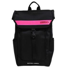 [マイケルリンネル]メンズ レディース リュック MICHAEL LINNELL ML025 BKP ブラック ピンク [並行輸入品]