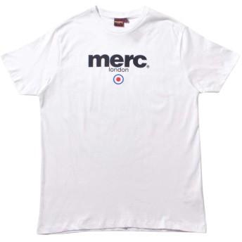 [メルクロンドン]MERC 半袖Tシャツ ブライトン Tシャツ BRIGHTON T-SHIRT 1704136 メンズ 01.ホワイト M [並行輸入品]