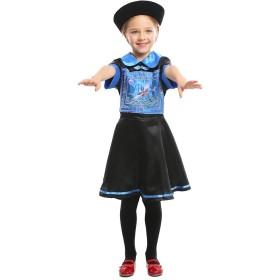 mrcos キョンシー コスプレ 仮装 中国 ゾンビ ホラー 衣装 帽子 お札 3点 セット (子供、S)