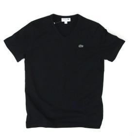 LACOSTE ラコステ メンズ ベーシックVネックTシャツ[TH632EM] L(サイズ4) 031 ブラック