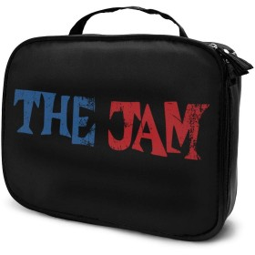 The Jam Music Band コスメポーチ トラベルポーチ 旅行用化粧ポーチ トラベルポーチ 小物入れ 化粧道具 吊り下げ 小物 収納 バッグインバッグ 旅行