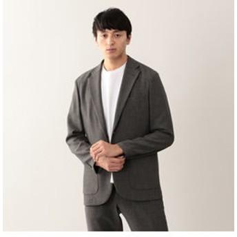 【MACKINTOSH PHILOSOPHY:ジャケット】【EASY DRESSING】 麻調ストレッチ シングル2Bジャケット