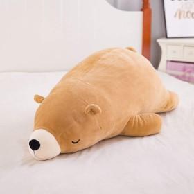 ぬいぐるみ 動物 クッション クマ 大きい 抱き枕 インテリア ベッドルーム 添寝枕 柔らかい ふわふわ 遊び 誕生日 クリスマス 子供 おもちゃ 置物 枕 プレゼント 女の子 部屋飾り お昼寝 可愛い