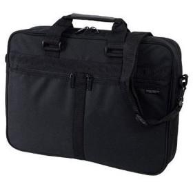 定番ベーシックビジネスバッグ 2way PC対応 B4対応 ブラック MBK-05