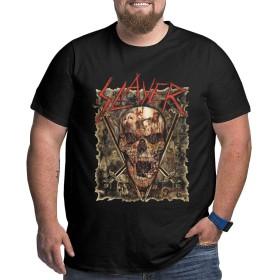 スレイヤー ·バンド Slayer Band XL Tシャツ メンズ 五分袖 Tシャツ 半袖 春夏季対応 メンズ 夏服 メンズ Tシャツ トップス おしゃれ 日常用 大きいサイズ