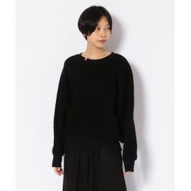 RAWLIFE Robes & Confections/ローブス&コンフェクションズ/プルオーバーパイルニット/BRC T01 112 レディース BLACK 1 【RAWLIFE】