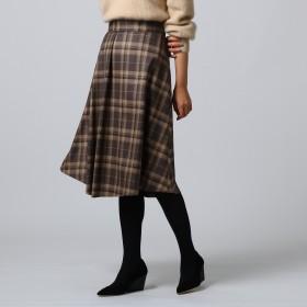 UNTITLED(アンタイトル)/チェックAラインスカート