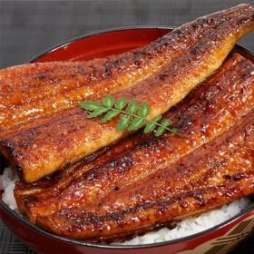 川口水産 特大国産 うなぎ の蒲焼き(170g)1尾(タレ、山椒付き)
