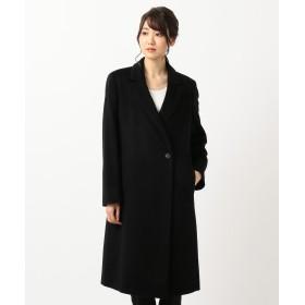 【オンワード】 ICB(アイシービー) 【数量限定】Pure Cashmere コート ブラック 4 レディース 【送料無料】