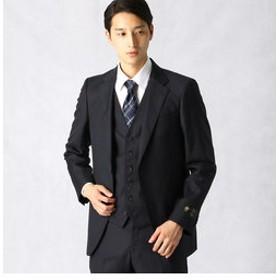 【COMME CA MEN:スーツ・ネクタイ】【IL CONTE】 チェックセットアップ ジャケット