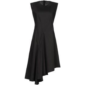 《期間限定セール開催中!》MARNI レディース ミニワンピース&ドレス ブラック 40 コットン 100%
