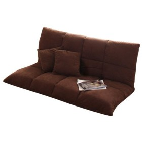 ブラウン/マルチリクライニングコンパクトソファ リビング 癒し sofa ソファ リクライニング 北欧 お洒落