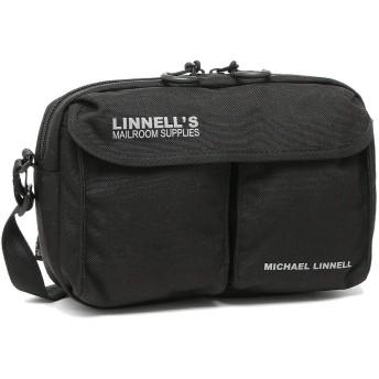 [マイケルリンネル]ショルダーバッグ メンズ レディース MICHAEL LINNELL MLCD500 ブラック [並行輸入品]