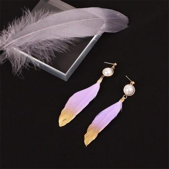 Swiftgood 女性女の子のイヤリングメタル合金の気質の耳絶妙なイヤリングYR397