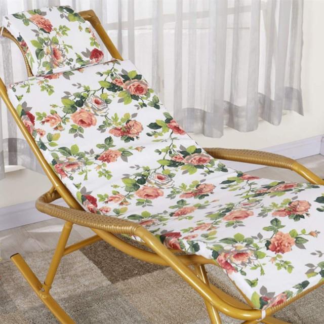 ロッキング シートクッション,薄い 花 ソフト ジャンボ オメガ シートクッション ベンチ クッション クッション 快適 ノンスリップ オフィスの椅子の-B 18x47inch