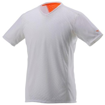 MIZUNO SHOP [ミズノ公式オンラインショップ] ランニングTシャツ[メンズ] 01 ホワイト J2MA7015
