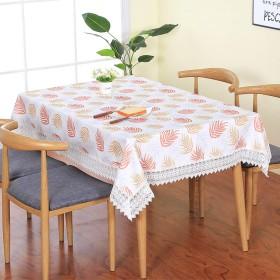 綿とリネンの長方形の防水テーブルクロスレストランホテルの装飾テーブルクロス家庭用防汚テーブルリネン (Size : 8080cm)