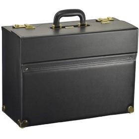 フライトケース パイロットケース メンズ A3ファイル ビジネスバッグ アタッシュケース ブリーフケース 日本製 豊岡製鞄 大容量の広マチタイプ 47cm
