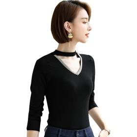 インナー レディース 保温下着 普通式 ルーム防寒ウエア 肌身 綿 tシャツ インナーシャツ 伸びる 着る 優しい シンメつ肌 吸汗性通気性 長袖 カップない S-3XL
