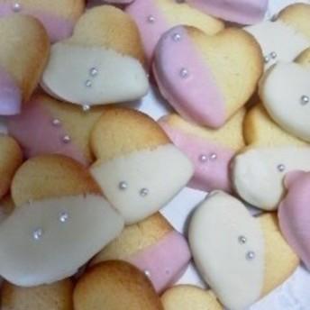 ハートチョコクッキー ストロベリーホワイト